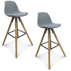 OPJET PARIS Set of 2 Bar Chairs