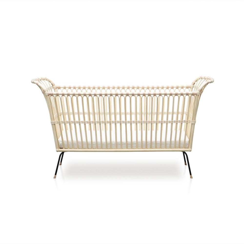 BERMBACH HANDCRAFTED Child Bed Frederick Rattan