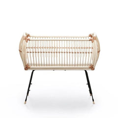 BERMBACH HANDCRAFTED Co Sleeping Crib Martha Rattan