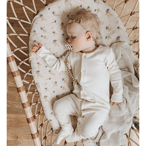 BERMBACH HANDCRAFTED Baby Crib Emil Rattan