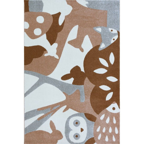 AFKLIVING Kids Rug Forest