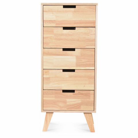 OPJET PARIS Chest of Drawers Boutique 5 Drawers 93cm