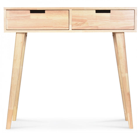 OPJET PARIS Desk 2 Drawers Boutique Wood 80cm