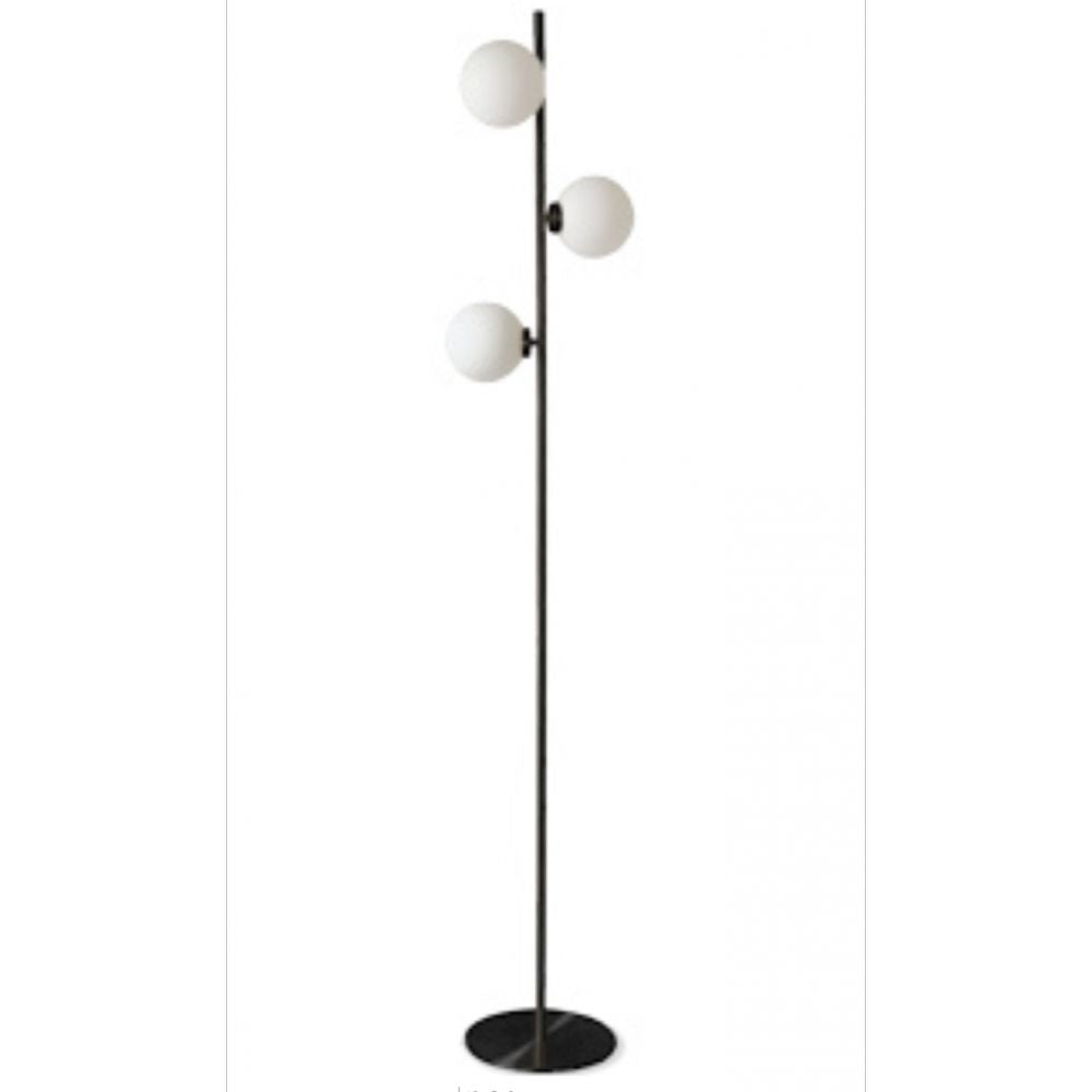 OPJET PARIS Floor Lamp Edmond 3 Globes Metal 152cm