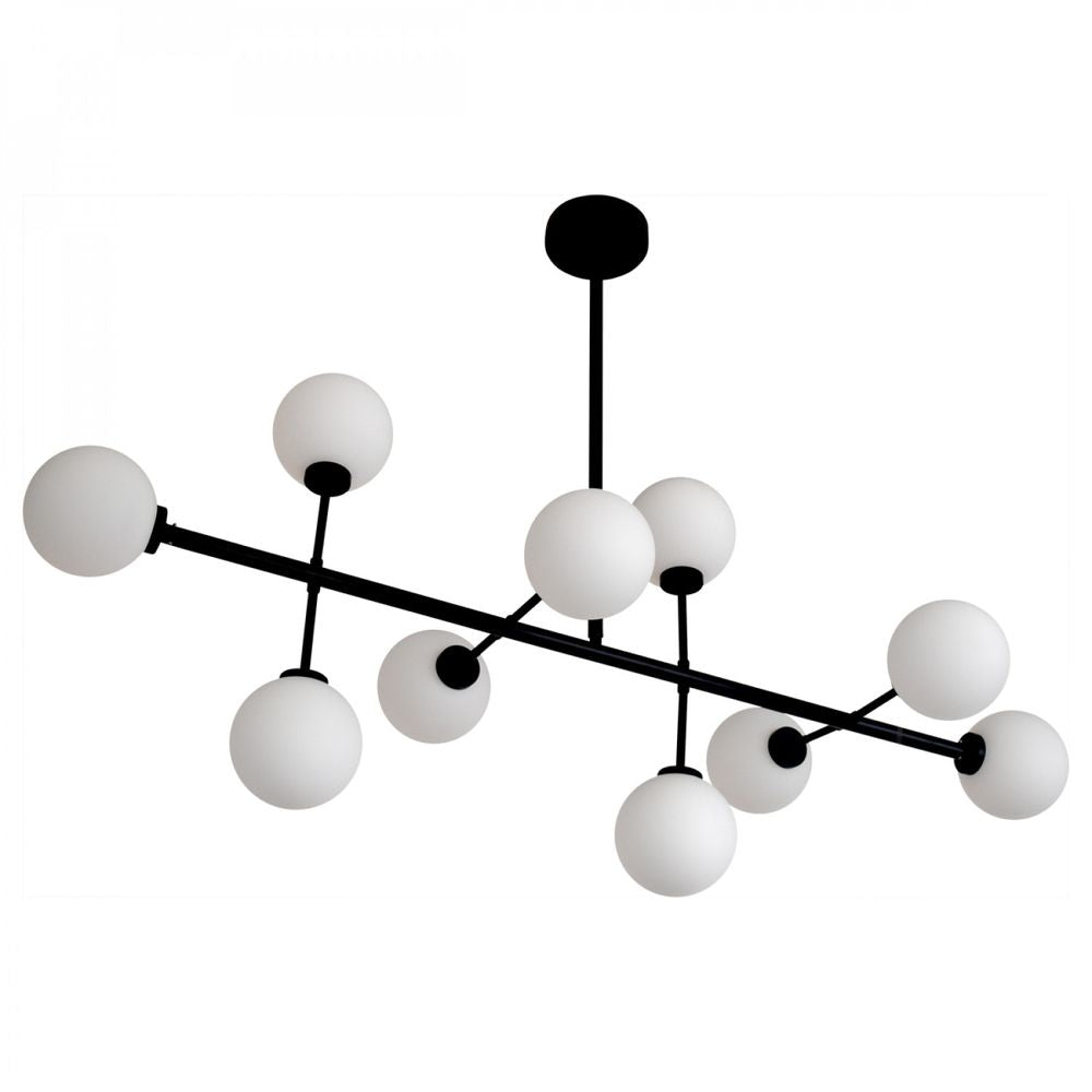 OPJET PARIS Ceiling Light Edmond 10 Globes Metal