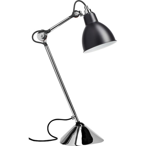 DCW EDITIONS Table Lamp Lampe Gras 205 Chrome Body