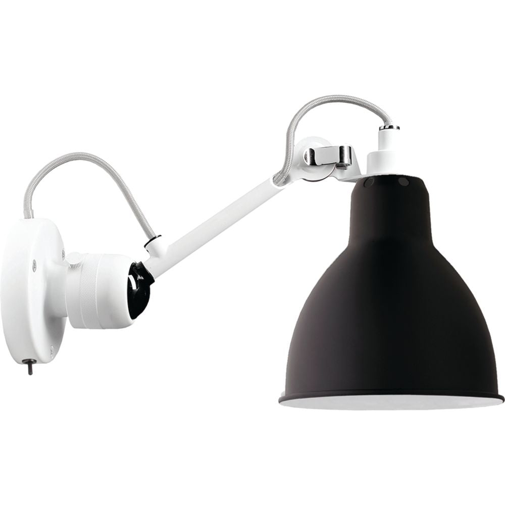 DCW EDITIONS Wall Light Lampe Gras 304 Switch On The Base White Body