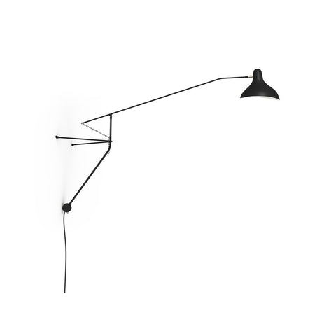DCW EDITIONS Wall Light Mantis BS2 Mini Black