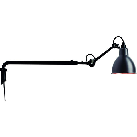 DCW EDITIONS Wall Light Lampe Gras 203 Black Body Copper Inside