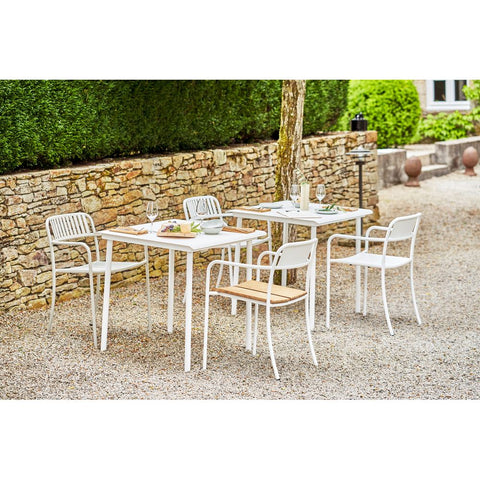 TOLIX Dining Table Patio Café Outdoor Painted