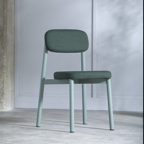 KANN DESIGN Chair Residence Wool Fabric Green