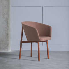 KANN DESIGN Armchair Residence Wool Fabric Pink