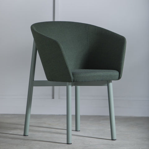 KANN DESIGN Armchair Residence Wool Fabric Green