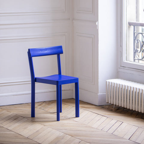KANN DESIGN Chair Galta Blue Oak