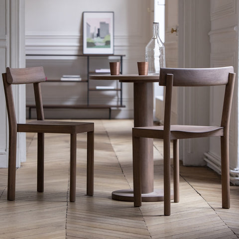 KANN DESIGN Round Table Galta Walnut