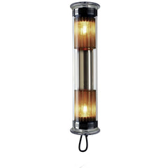 DCW EDITIONS Wall Light In The Tube 100-500 Silver Mesh Transparent Stopper