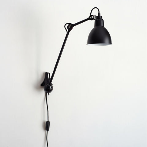 DCW EDITIONS Wall Light Lampe Gras 222 Black Body