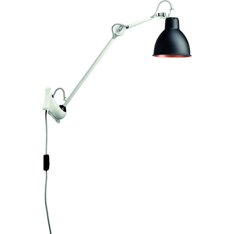 DCW EDITIONS Wall Light Lampe Gras 222 White Body Copper Inside