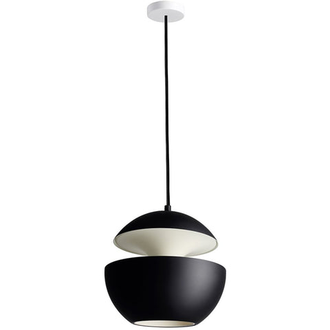 DCW EDITIONS Suspension Light Here Come The Sun 250 Black