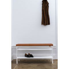 MAZE Bench Nancy White Cognac