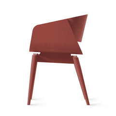 ALMOST Armchair 4th Oak Red