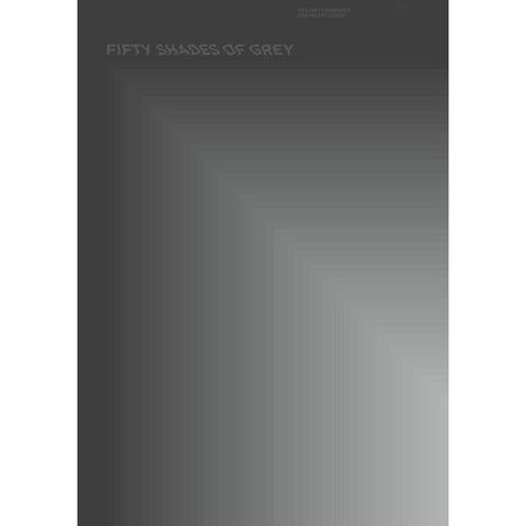 "BOOKSTER Art Print ""Fifty Shades of Grey"" 59x84cm"