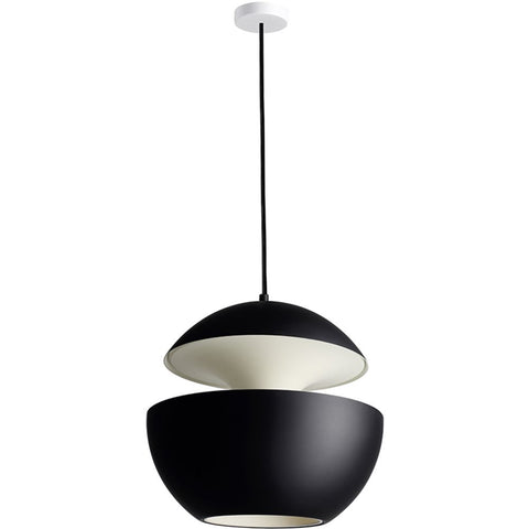 DCW EDITIONS Suspension Light Here Come The Sun 450 Black
