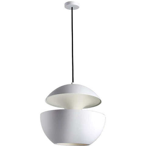 DCW EDITIONS Suspension Light Here Come The Sun 450 White