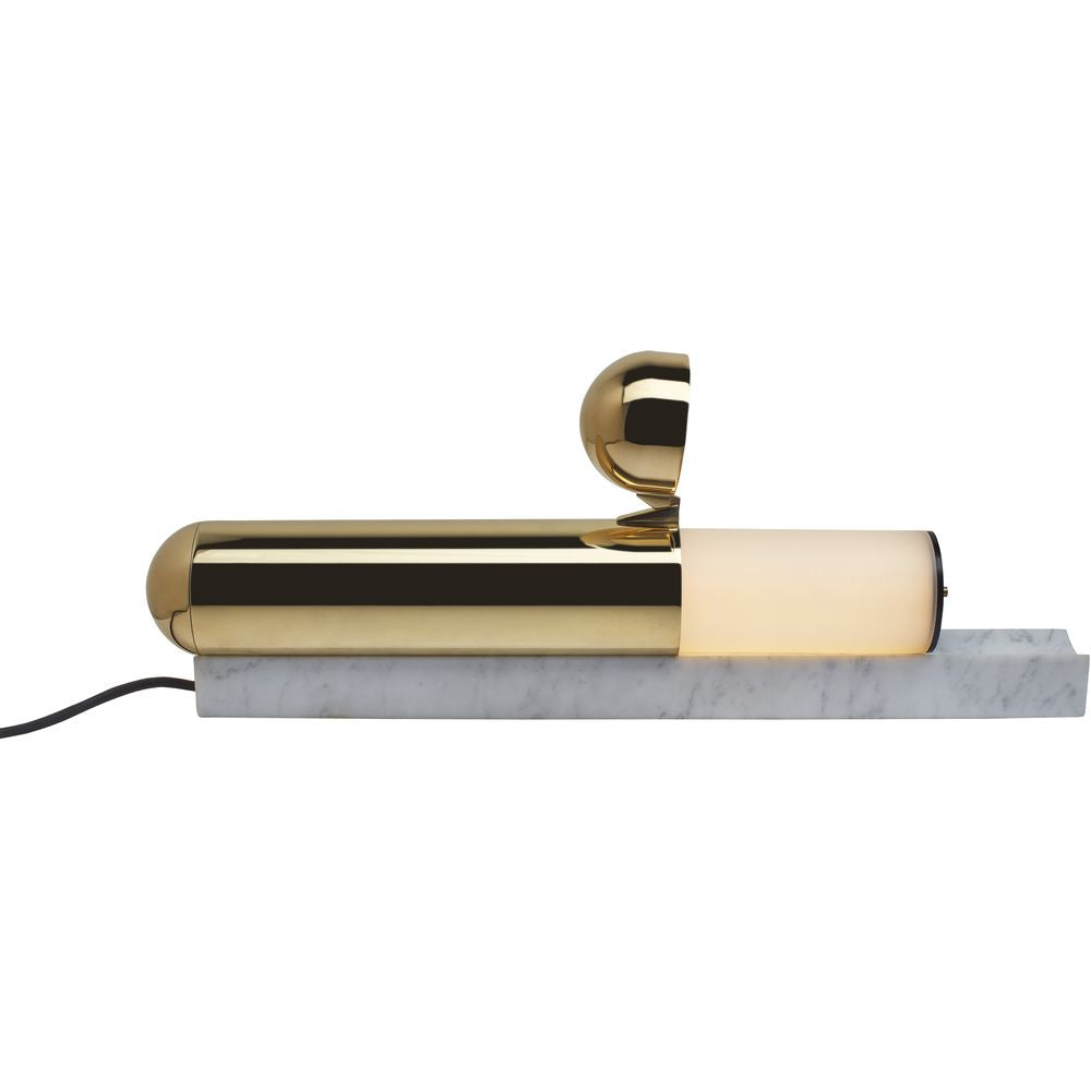 DCW EDITIONS Table Lamp ISP Natural Brass Marble