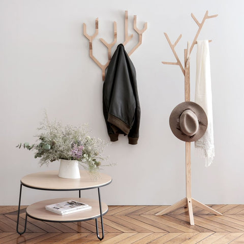 HARTO Coat Stand Ambroise Oak