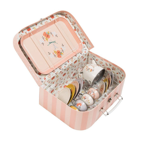 "MOULIN ROTY Suitcase Tea set ""Les Parisiennes"""