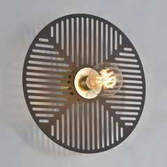 MARKET SET Wall Light Waterlily 40cm
