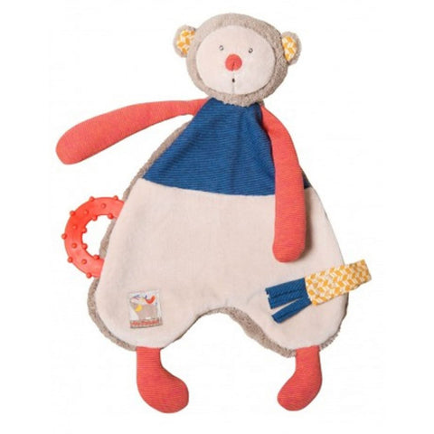 "MOULIN ROTY Baby Comforter Monkey ""Les Papoum"""