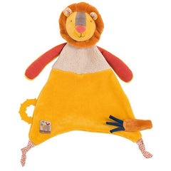 "MOULIN ROTY Baby Comforter Lion ""Les Papoum"""