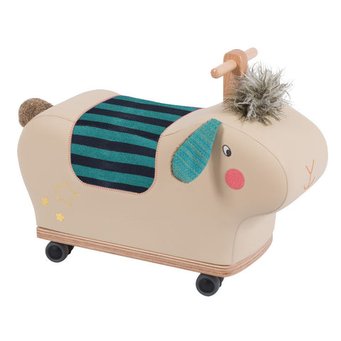 "MOULIN ROTY Ride-on sheep ""Les Zig et Zag"""