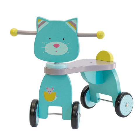 "MOULIN ROTY Ride-on cat ""Les Pachats"""