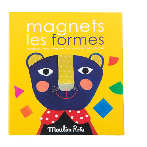 "MOULIN ROTY Magnetic letters game Shapes ""Les Popipop"""
