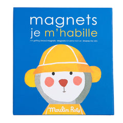 "MOULIN ROTY Magnetic letters game Getting dressed ""Les Popipop"""