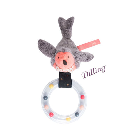 "MOULIN ROTY Bird ring rattle ""Il était une fois"""