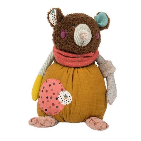 "MOULIN ROTY Soft Toy Brown bear ""Les Jolis trop beaux"""