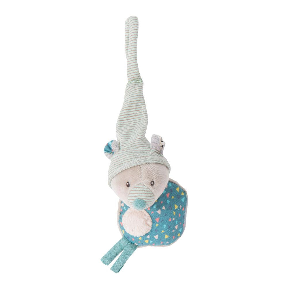 "MOULIN ROTY Comforter soother holder Bear ""Les Jolis trop beaux"""