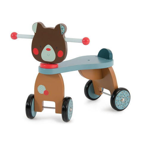"MOULIN ROTY Ride-on bear ""Les Jolis trop beaux"""