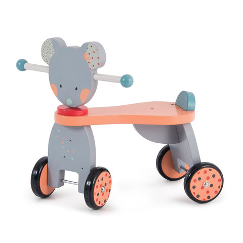"MOULIN ROTY Ride-on mouse ""Les Jolis trop beaux"""