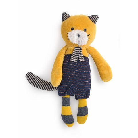 "MOULIN ROTY Soft Toy Lulu the cat ""Les Moustaches"""