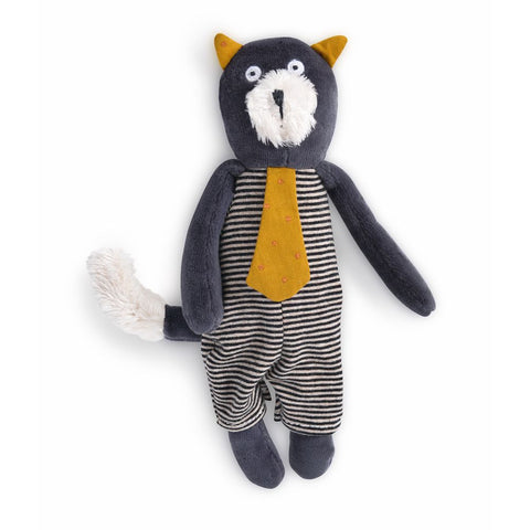 "MOULIN ROTY Soft Toy Alphonse the cat ""Les Moustaches"""