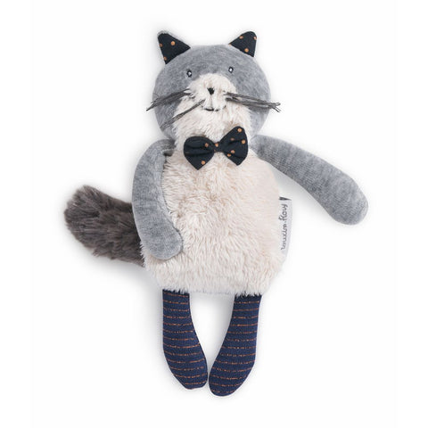 "MOULIN ROTY Soft Toy Fernand the cat ""Les Moustaches"""