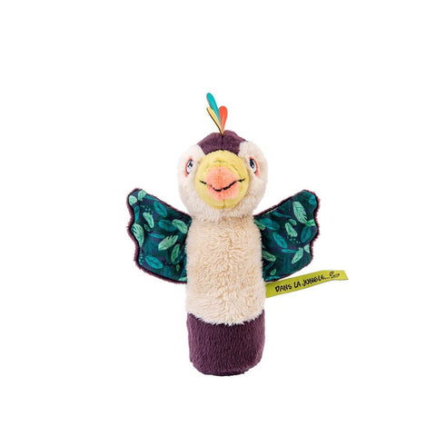 "MOULIN ROTY Pakou squeaky rattle ""Dans la jungle"""