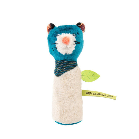 "MOULIN ROTY Zimba squeaky rattle ""Dans la jungle"""