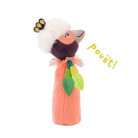 MOULIN ROTY Paloma squeaky rattle