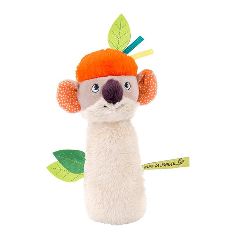 "MOULIN ROTY Koco squeaky rattle ""Dans la jungle"""